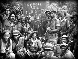 knil-bat infanterie 1 1e konvooi wonogiri