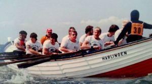 Tweede roeiploeg Harlingen HT Race