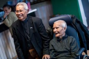 WIERDEN - Twee oud KNIL-militairen van Molukse afkomst worden gehuldigd en ontvangen 25.000 euro. Eindelijk de payback, bijzonder moment Maluku4Maluku