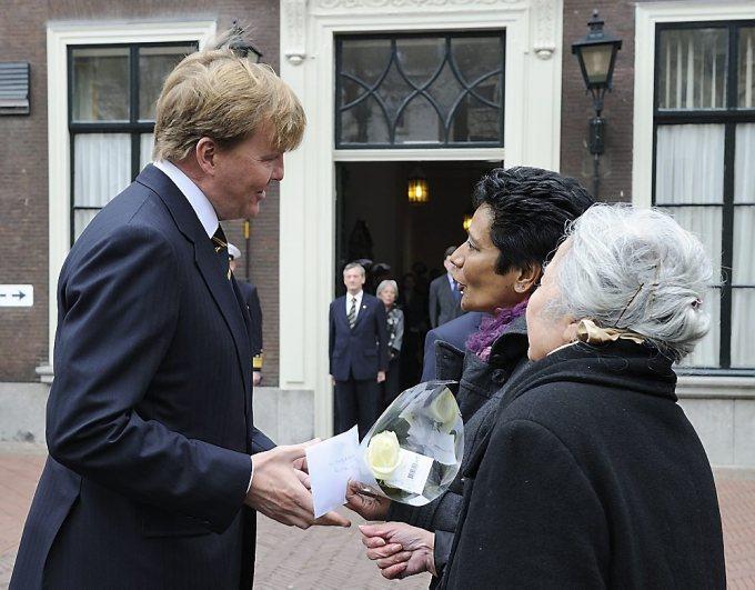 Prins Willem-Alexander bij herdenking slag in de Javazee
