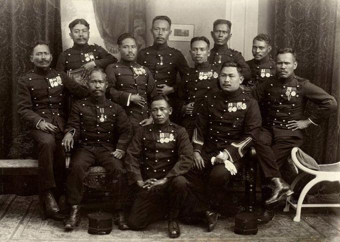 KNIL-militairen 9 juni 1927 Van Heutsz