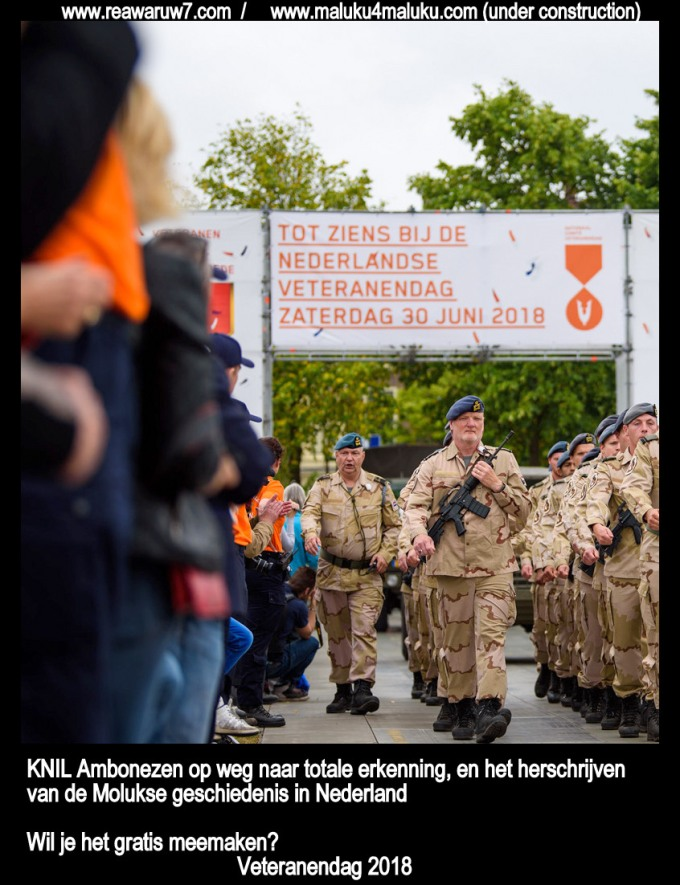 KNIL Ambonezen Veteranendag 2018